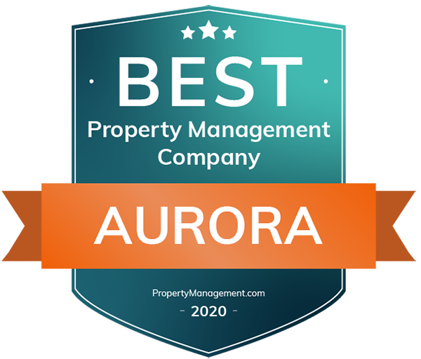 Best Property Management Companies in Aurora, CO 2020 Badge
